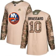 Wholesale Cheap Adidas Islanders #10 Derek Brassard Camo Authentic 2017 Veterans Day Stitched NHL Jersey