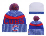 Wholesale Cheap MLB Chicago Cubs Logo Stitched Knit Beanies 006
