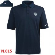 Wholesale Cheap Nike Tampa Bay Rays 2014 Players Performance Polo Dark Blue