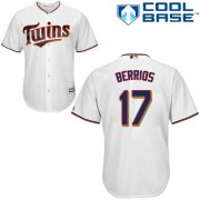 Wholesale Cheap Twins #17 Jose Berrios White Cool Base Stitched Youth MLB Jersey