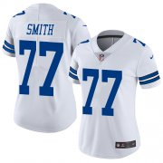 Wholesale Cheap Nike Cowboys #77 Tyron Smith White Women's Stitched NFL Vapor Untouchable Limited Jersey