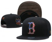 Wholesale Cheap Boston Red Sox Snapback Ajustable Cap Hat YD 2