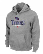 Wholesale Cheap Tennessee Titans Critical Victory Pullover Hoodie Grey