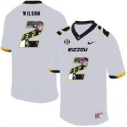 Wholesale Cheap Missouri Tigers 2 Micah Wilson White Nike Fashion College Football Jersey