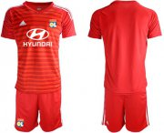 Wholesale Cheap Lyon Blank Red Goalkeeper Soccer Club Jersey
