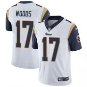 Wholesale Cheap Nike Rams #17 Robert Woods White Youth Stitched NFL Vapor Untouchable Limited Jersey