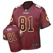 Wholesale Cheap Nike Redskins #81 Art Monk Burgundy Red Team Color Men's Stitched NFL Elite Drift Fashion Jersey