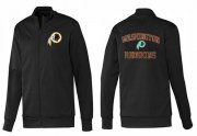 Wholesale Cheap NFL Washington Redskins Heart Jacket Black