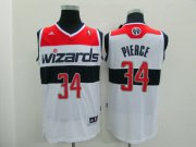 Wholesale Cheap Washington Wizards #34 Paul Pierce Revolution 30 Swingman 2014 White Jersey