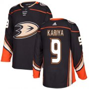 Wholesale Cheap Adidas Ducks #9 Paul Kariya Black Home Authentic Youth Stitched NHL Jersey