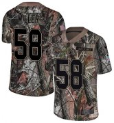Wholesale Cheap Nike Broncos #58 Von Miller Camo Men's Stitched NFL Limited Rush Realtree Jersey