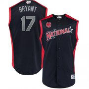 Wholesale Cheap Cubs #17 Kris Bryant Navy 2019 All-Star National League Stitched MLB Jersey