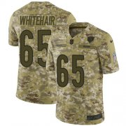 Wholesale Cheap Nike Bears #65 Cody Whitehair Camo Men's Stitched NFL Limited 2018 Salute To Service Jersey