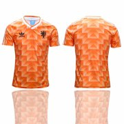 Wholesale Cheap Holland Blank Orange Throwback Soccer Country Jersey