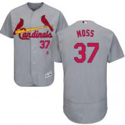 Wholesale Cheap Cardinals #37 Brandon Moss Grey Flexbase Authentic Collection Stitched MLB Jersey
