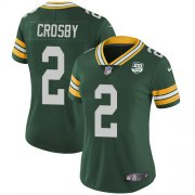 Wholesale Cheap Nike Packers #2 Mason Crosby Green Team Color Women's 100th Season Stitched NFL Vapor Untouchable Limited Jersey