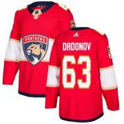 Wholesale Cheap Adidas Panthers #63 Evgenii Dadonov Red Home Authentic Stitched Youth NHL Jersey