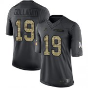 Wholesale Cheap Nike Lions #19 Kenny Golladay Black Youth Stitched NFL Limited 2016 Salute to Service Jersey