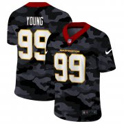 Cheap Washington Redskins #99 Chase Young Men's Nike 2020 Black CAMO Vapor Untouchable Limited Stitched NFL Jersey