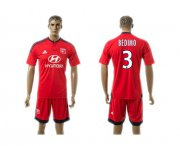 Wholesale Cheap Lyon #3 Bedimo Away Soccer Club Jersey