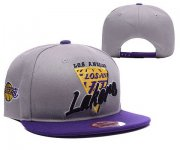 Wholesale Cheap NBA Los Angeles Lakers Snapback Ajustable Cap Hat XDF 012