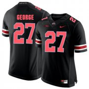 Wholesale Cheap Ohio State Buckeyes 27 Eddie George Blackout College Football Jersey