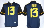 Wholesale Cheap West Virginia Mountaineers #13 Andrew Buie 2013 Navy Blue Limited Jersey