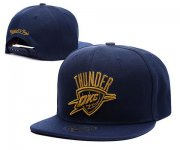 Wholesale Cheap NBA Oklahoma City Thunder Snapback Ajustable Cap Hat XDF 046