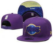 Wholesale Cheap Los Angeles Lakers Snapback Ajustable Cap Hat YD 8