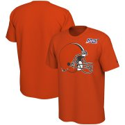 Wholesale Cheap Cleveland Browns Nike Primary Logo Legend NFL 100 Performance T-Shirt Orange