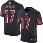 Wholesale Cheap Nike Cardinals #17 Hakeem Butler Black Men's Stitched NFL Limited Rush Jersey