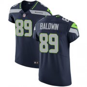 Wholesale Cheap Nike Seahawks #89 Doug Baldwin Steel Blue Team Color Men's Stitched NFL Vapor Untouchable Elite Jersey