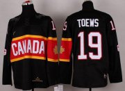 Wholesale Cheap Olympic 2014 CA. #19 Jonathan Toews Black Stitched NHL Jersey
