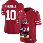 Cheap San Francisco 49ers #10 Jimmy Garoppolo Nike Team Hero Vapor Limited NFL Jersey Red