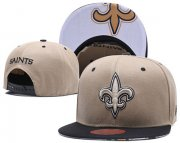 Wholesale Cheap NFL New Orleans Saints Team Logo Snapback Adjustable Hat LT15