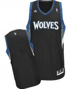 Wholesale Cheap Minnesota Timberwolves Blank Black Swingman Jersey