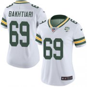 Wholesale Cheap Nike Packers #69 David Bakhtiari White Women's 100th Season Stitched NFL Vapor Untouchable Limited Jersey