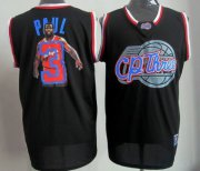 Wholesale Cheap Los Angeles Clippers #3 Chris Paul Black Notorious Fashion Jersey