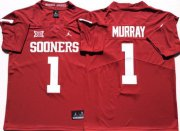 Wholesale Cheap Oklahoma Sooners 1 Kyler Murray Red College Football Jersey