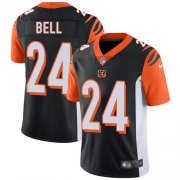 Wholesale Cheap Nike Bengals #24 Vonn Bell Black Team Color Youth Stitched NFL Vapor Untouchable Limited Jersey