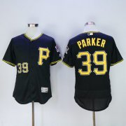Wholesale Pirates #39 Dave Parker Black Flexbase Authentic Collection Stitched Baseball Jersey