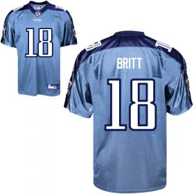 Wholesale Cheap Titans #18 Kenny Britt Stitched Baby Blue NFL Jersey