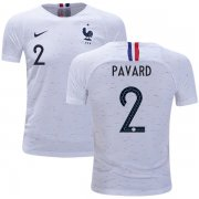 Wholesale Cheap France #2 Pavard Away Kid Soccer Country Jersey