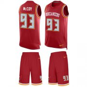 Wholesale Cheap Nike Buccaneers #93 Gerald McCoy Red Team Color Men's Stitched NFL Limited Tank Top Suit Jersey