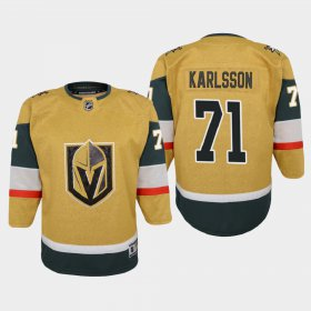 Cheap Vegas Golden Knights #71 William Karlsson Youth 2020-21 Player Alternate Stitched NHL Jersey Gold