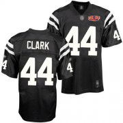 Wholesale Cheap Colts #44 Dallas Clark Black Shadow With Super Bowl Patch Stitched NFL Jersey