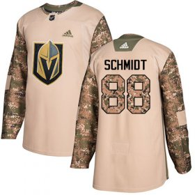 Wholesale Cheap Adidas Golden Knights #88 Nate Schmidt Camo Authentic 2017 Veterans Day Stitched NHL Jersey