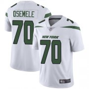 Wholesale Cheap Nike Jets #70 Kelechi Osemele White Men's Stitched NFL Vapor Untouchable Limited Jersey