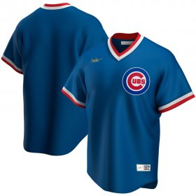 Wholesale Cheap Chicago Cubs Nike Road Cooperstown Collection Team MLB Jersey Royal