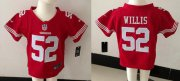 Wholesale Cheap Toddler Nike 49ers #52 Patrick Willis Red Team Color Stitched NFL Elite Jersey